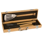 3-Piece Father's Day Bamboo Grill Set