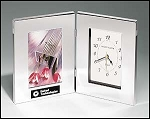 Clock/Photo Frame Combo