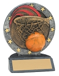 Basketball -- All Star Resin Trophy