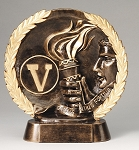 "Victory - Resin Figure High-Relief Series. 7½"" Tall"